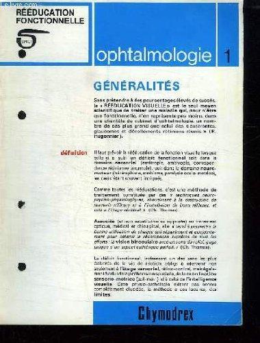 6 FICHES TECHNIQUE . OPHTALMOLOGIE. 1: GENERALITES. 2: L AMBLYOPIE. 3: L AMBLYOPIE AVEC UNE FIXATION EXCENTRIQUE. 4: L ORTHOPTIE, LES HETEROPHORIES, L INSUFFISANCE DE CONVERGENCE. 5: LES HETEROPHORIES , L INSUFFISANCE DE CONVERGENCE. 6: LE STRABISMES.