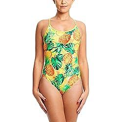 Zoggs Pina Colada Starback Bañador, Mujer, Color, tamaño S