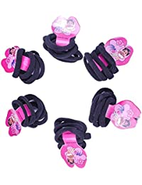 FULLY Graceful & Fashionable Hair Accessories / Hair Bands / Rubber Bands For Hair Styling (Black, 30 Pcs)