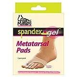 FootMatters Metatarsal Pads Spandex Gel Comfort Large
