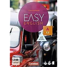 Easy English: A1: Band 1 - Kursbuch: Mit Audio-CDs, Phrasebook, Aussprachetrainer und Video-DVD