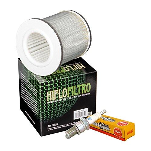 Filtro aria HifloFiltro HFA4603 candele NGK BPR7ES Yamaha BT Bulldog 1100