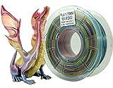 Stronghero3D 1,75 mm 3D impresora Filamento PLA N Rainbow Splendid Peso 1 kg Precisión +/-0,05 mm