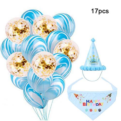 ana Hut Schal Ballon Party Supplies, Pet Party Crown Hut Dekoration Set ()