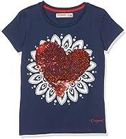 Desigual Girl Knit T-Shirt Short Sleeve (TS_Dover) Camiseta para Niñas