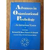 Advances in Organizational Psychology: An International Review