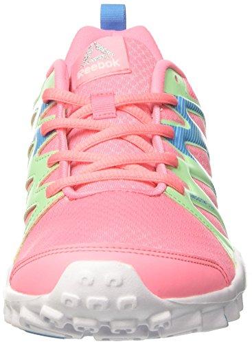 Reebok - Bd5392, Scarpe sportive Bambina Rosa (Peppy Pink/Mint Green/Blue Beam/White)