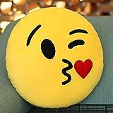 Emoji Pillow Schlag Kiss Kissen