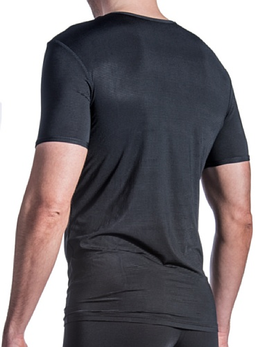 Olaf Benz Herren Unterhemd RED1201 T-Shirt Schwarz (black 8000)