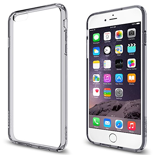 Spigen Case für iPhone 6 PLUS / 6S PLUS [TOUGH ARMOR] mit SF in mintgrün [Mint - SGP11055] Ultra Hybrid - Space Crystal