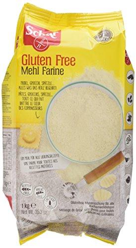 """Schär Mehl """"Farine"""" – Basismehlmischung glutenfrei 1kg, 10er Pack"""