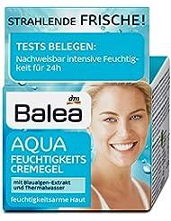 BALEA Aqua Gel Crème Hydratant Pour peaux sèches, pack de 12(12x 50ml)