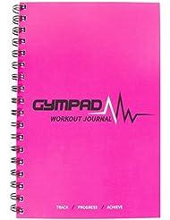GymPad- (Rosado)- Un diario de entrenamiento elegante con más de 25 recursos útiles…