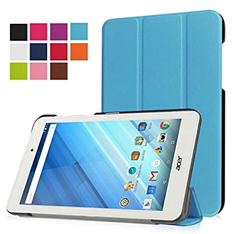 Acer Iconia One 8 B1-850 Case - IVSO Slim Smart Cover Case for Acer Iconia One 8 B1-850 inch Tablet