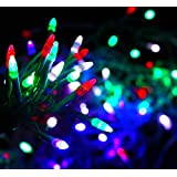 CITRA Copper 8 Mode LED Waterproof Rocket Shaped String Light (Multicolour, 25M 82ft) -130LED