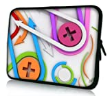 Pedea Design Tablet PC Tasche 10,1 Zoll (25,6 cm) neopren color buttons