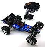 efaso Modell RC Auto Elektro ferngesteuertes RC Car HIGH Speed Buggy Wltoys L959 in blau 2,4G 1:12 Scale RC Cross Country Racing Car Brushed Motor RTR OVP