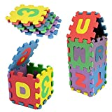 #2: Toyshine Foam Hopscotch Letters and Numbers Puzzle Mat - 36 Pieces
