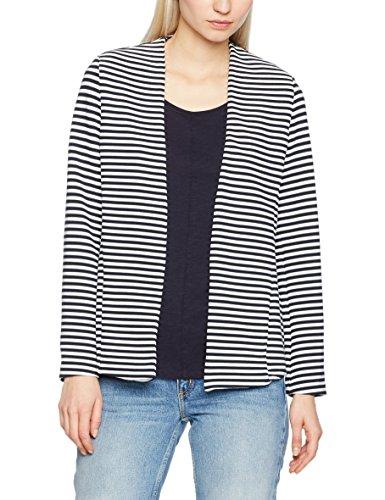 ESPRIT Damen  Sweatshirt 997EE1J800, , , , , Gr. 40 (Herstellergröße: L), Blau (Navy 2 401) (Blazer Femininer)