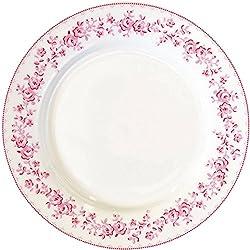 GreenGate Teller - Plate - Audrey Raspberry 20,5 cm
