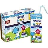 Nestlé Junior Alimento lácteo infantil - Paquete de 3 x 200 ml - Total: 600 ml