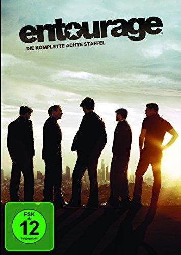 Entourage - Die komplette achte Staffel [2 DVDs] (Entourage-staffel 8)
