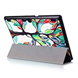 Hülle für Lenovo Tab 2 A10-30 A10-70F / Tab 10 TB-X103F 10.1 Zoll Smart Cover mit Auto Sleep/Wake + Touchpen