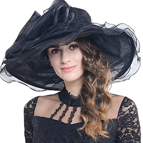 Pamela Ascot de organza para mujer 33e4a3aa7157