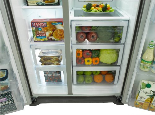 Side By Side Kühlschrank Mit 0 Grad Zone : Samsung rs ugdsref side by side kühlschrank mit