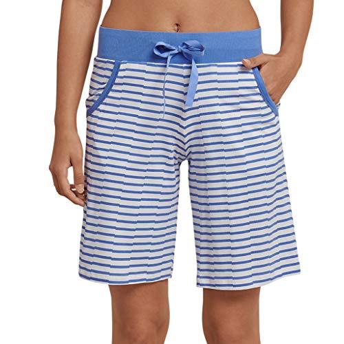 Schiesser - Mix & Relax - Schlafanzug Jersey Bermuda - 165616 (36 Atlantikblau) -