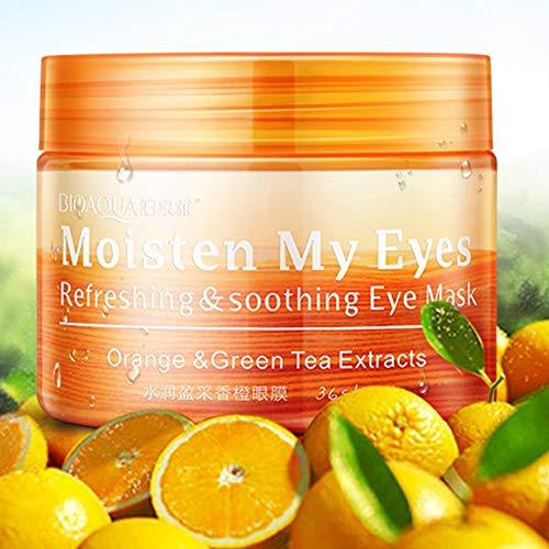 36 Teile/flasche BIOAQUA Augenmaske Frauen Kollagen Gel Whey Protein Gesichtspflege Schlaf Patches Gesundheit