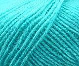 #4: Vardhman Brilon Sky (200 gm) knitting yarn wool, crochet yarn thread. Best used with knitting needles, crochet needles. Vardhman wool yarn for knitting.