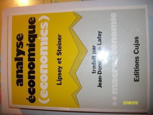 Analyse économique 2. Macroéconomie (traduit par...