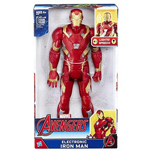Avengers Figura electrónica Iron Man, versión española (Hasbro C2162105)