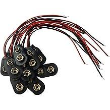 9 Volt Batterieclip Block Batterie Clip Anschluss Kabel für 9V Blöcke I-Form