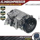Compressore climatizzatore con puleggia scanalata per A4 8E2, B6 A6 4B, C5 A4 Avant 8E5, B6 A6 Avant 4B, C5 I4 1.9L 2001-2005