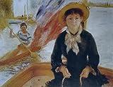 Das Museum Outlet–Kanu fahren (auch bekannt als Junge Mädchen in einem Boot), 1877, gespannte Leinwand Galerie verpackt. 50,8x 71,1cm