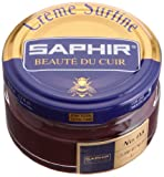 Cirage Crème Surfine Pommadier SAPHIR (50 ml BORDEAUX 08)