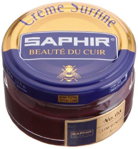 Crème Surfine, de la marca Saphir, para abrillantar zapatos, 50 ml (26) ACIER STEEL