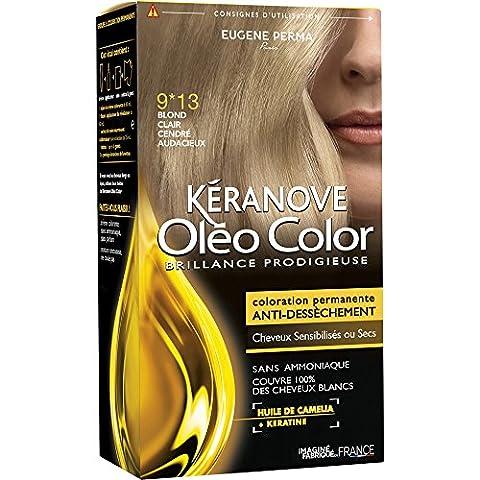 Kéranove Oléo Color Coloration 9*13 Blond Clair Cendré Audacieux 0,20
