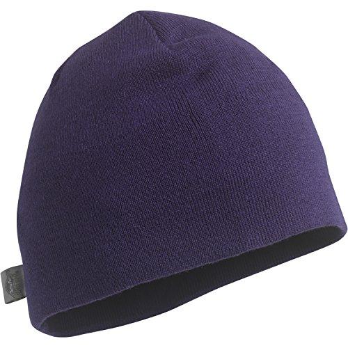 Turtle Merino Uncle Richy Beanie, unisex, aubergine (Knit Hat Nordic)