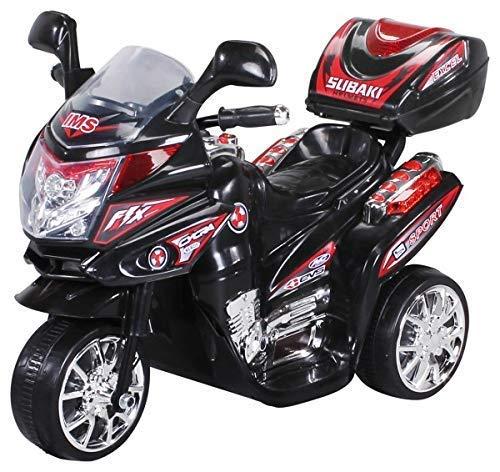 Actionbikes Motors Kinder Elektroauto Motorrad C051 Elektro Motorrad Kinderfahrzeug (schwarz)