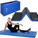 Eyepower 8 cm Gymnastikmatte 200x100cm Turnmatte Sportmatte Weichbodenmatte Blau