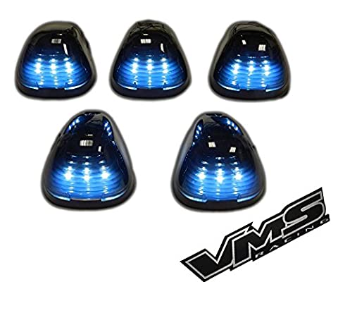 VMS Racing Cab Roof Lights Markers 5 Piece pc COVERS