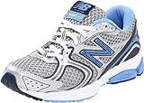 New Balance W580sb2, Zapatillas de Atletismo para Mujer, Plata/Azul, 35.5 EU