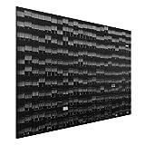 Bilderwelten Aluminium Print Gebürstet - Way of Life - Querformat 2:3, Aluminium Print Wandbild Alu-Bild Wall Art Alu-Dibond, Größe HxB: 80cm x 120cm