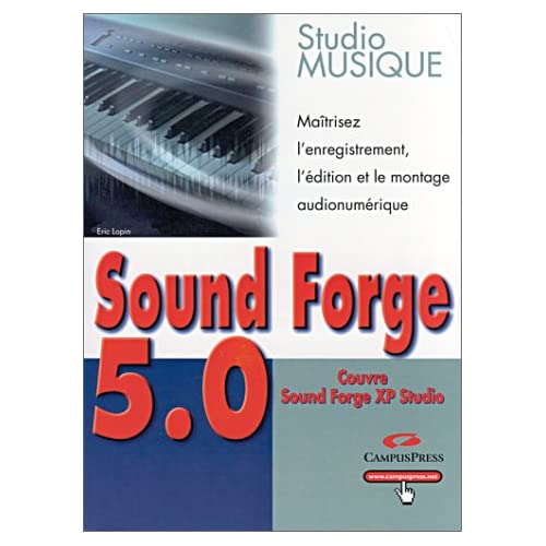 Sound Forge 5.0, studio musique (PC)