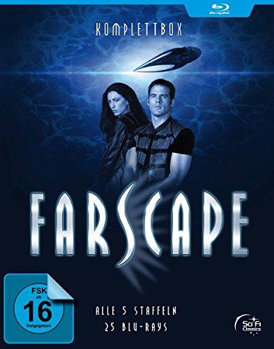 Bild von Farscape - Verschollen im All - Staffel 1-5 - Komplettbox [Blu-ray]