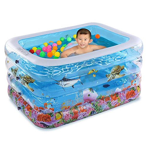 LIVY Aufblasbare Baby Pool Isolierung Kleinkind Jungen Baby Schwimmbad Schwimmbad Eimer Bad Lauf , B