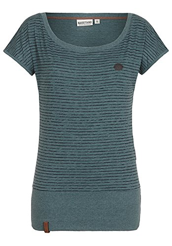 Damen T-Shirt Naketano Wolle Dizzy VIII T-Shirt (T-shirt Wolle Kurzarm)
